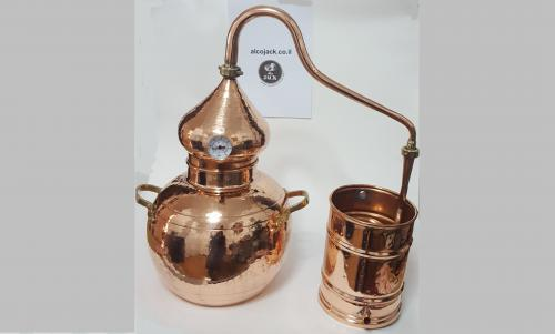 מזקקה 20 ליטר נחושת - Copper Alembic Still