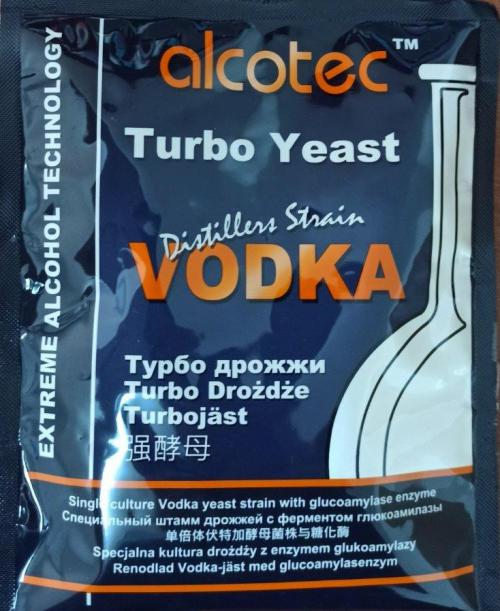 שמרי וודקה - Vodka Turbo Yeast